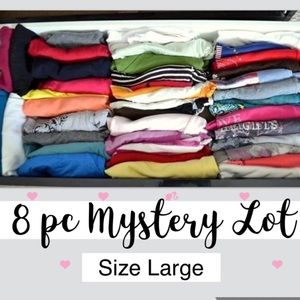 8 pc Women Mystery Box Brand Names Sz Large
